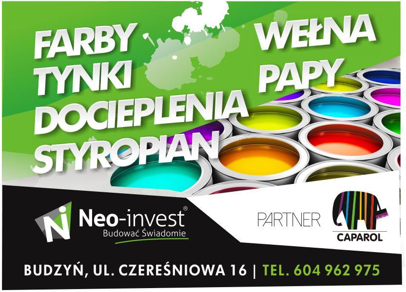 Hurtownia Materiałów Budowlanych NEO INVEST Budzyń, Chodzież, Margonin, Szamocin