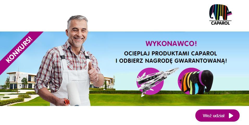 Konkurs - ocieplaj produktami CAPAROL i odbierz nagrodę gwarantowaną
