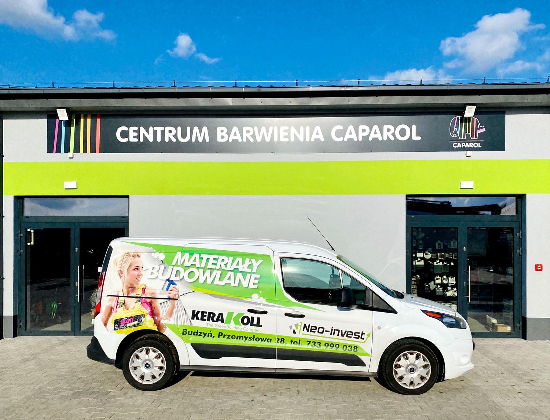 CAPAROL - oficjalny przedstawiciel i sprzedawca farb i tynków do systemów ociepleń Hurtownia Materiałów Budowlanych NEO INVEST Budzyń