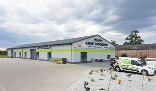 Hurtownia materiałów budowlanych NEO INVEST Budzyń - materiały budowlane od fundamentów aż po dach, mieszalnia farb i tynków CAPAROL